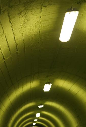 Cinque Terre tunnel