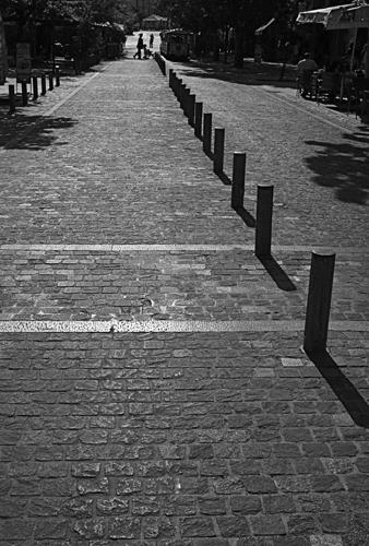 street posts Athens