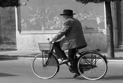 Chiusi cyclist