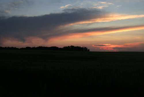 Strathclair sunset
