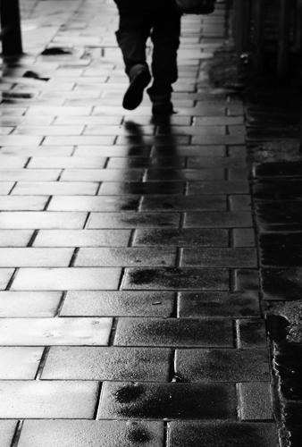 Camden Town sidewalk