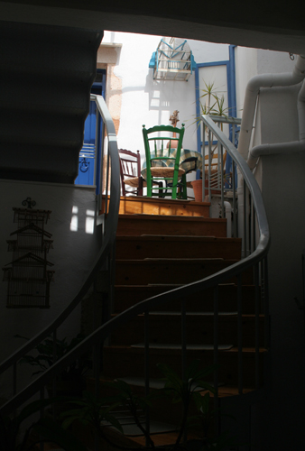 Chania stairway