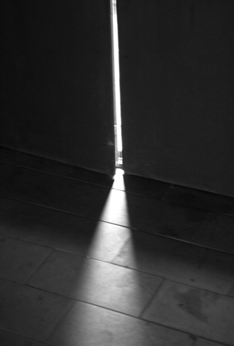 Light through doors